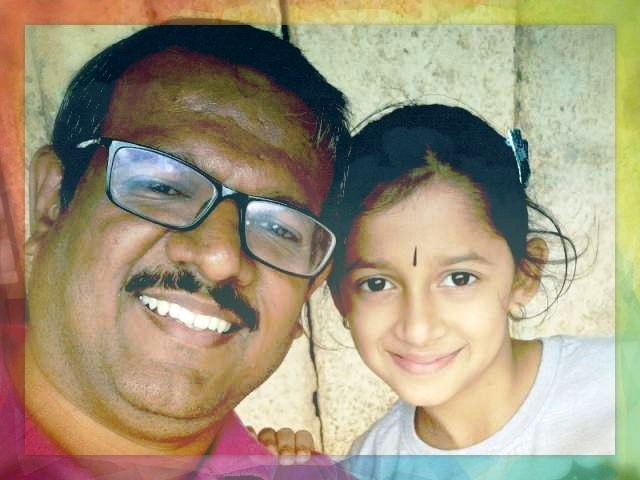 Vijay and Daughter
